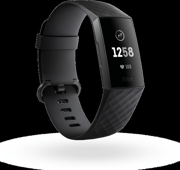 Charge 3 (non-NFC), Graphite/Black
