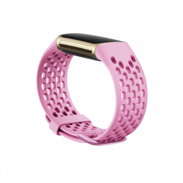 Charge 5, Sport Band,Frosted Lilac,Large