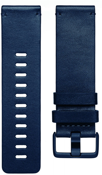 Versa, Accessory Band, Leather, Midnight Blue, Large
