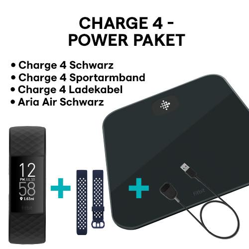 Charge 4 (NFC) Bundle, Black/Black